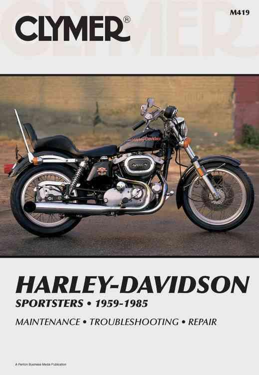 Harley-Davidson Sportsters 1959-1985, Service, Repair, Maintenance By Robinson, Jeff (EDT)